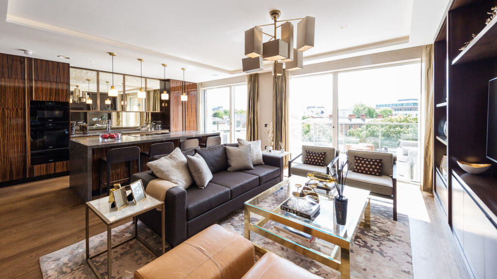 Lansdowne Penthouse Living