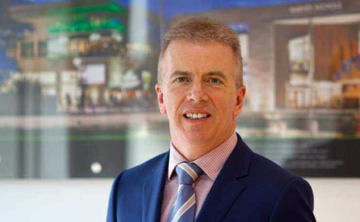 Joe O'Reilly, Founder and Managing Director of Chartered Land, the developers of luxury apartments scheme Lansdowne Place