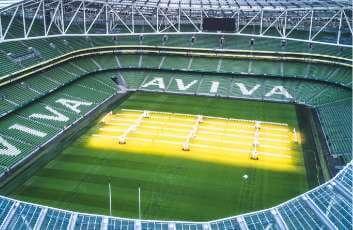 <p><strong>Aviva Stadium</strong></p>