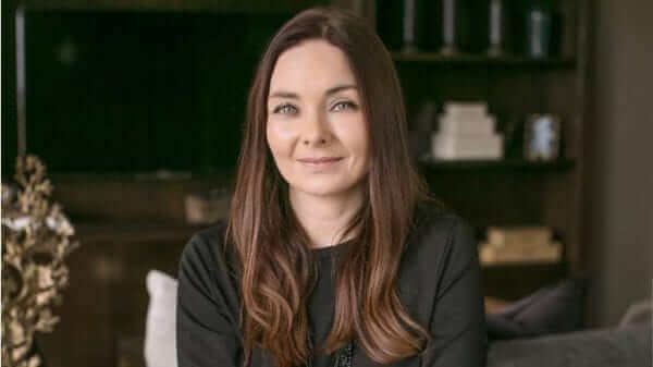 Interior Designer Sara Cosgrove who designed the luxury Duplex Townhouses and new show apartment