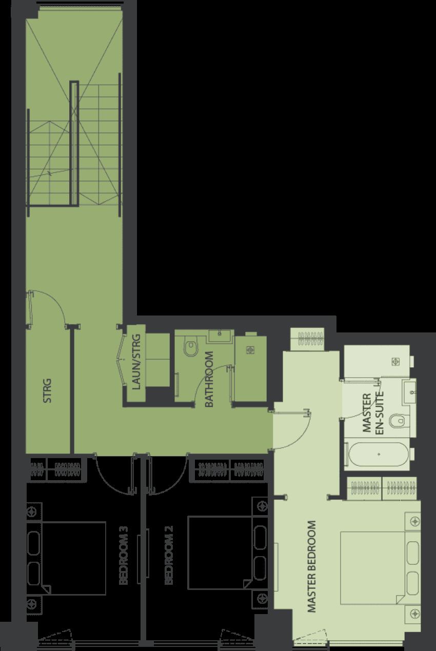 Lansdowne Place | nicholson-db2-1 Floor Plan