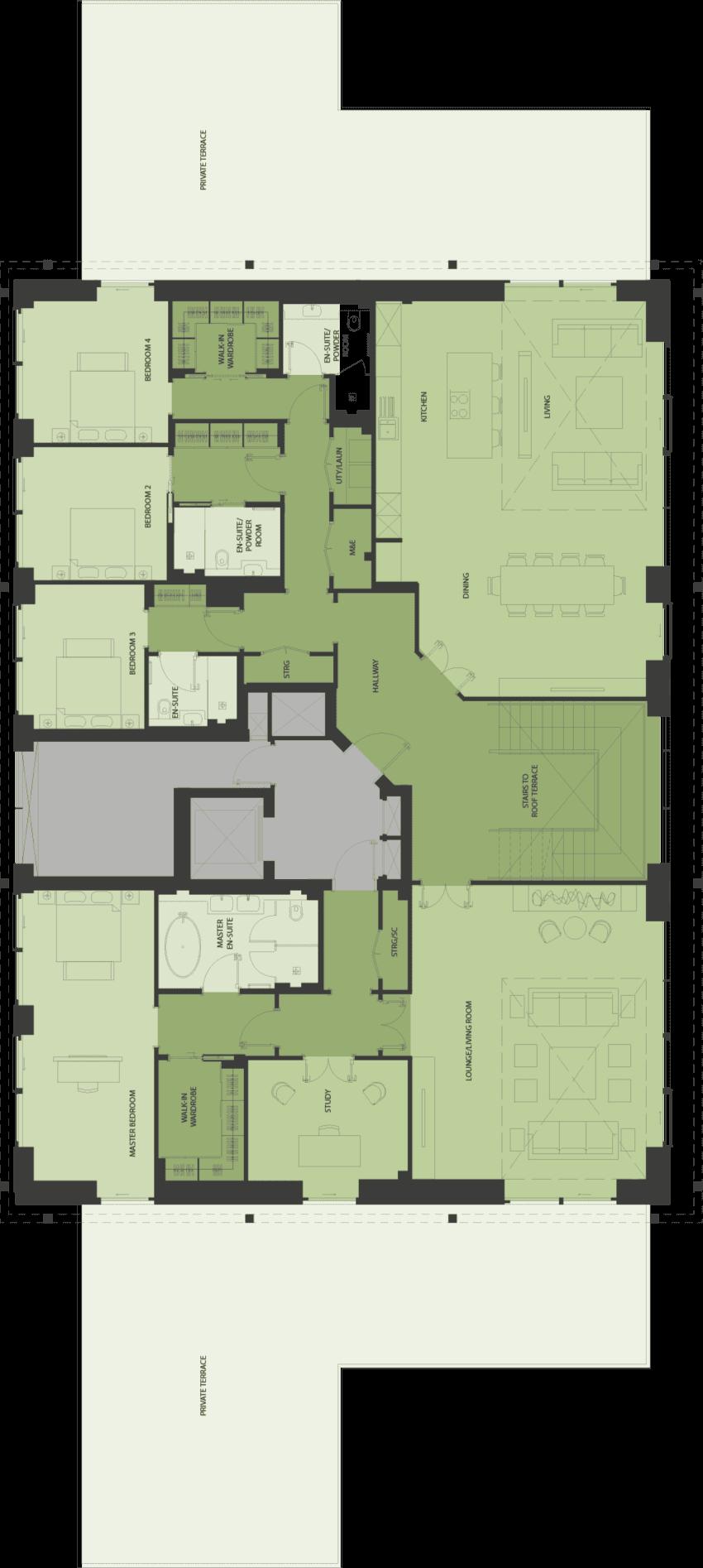 Lansdowne Place | nicholson-sp-d Floor Plan