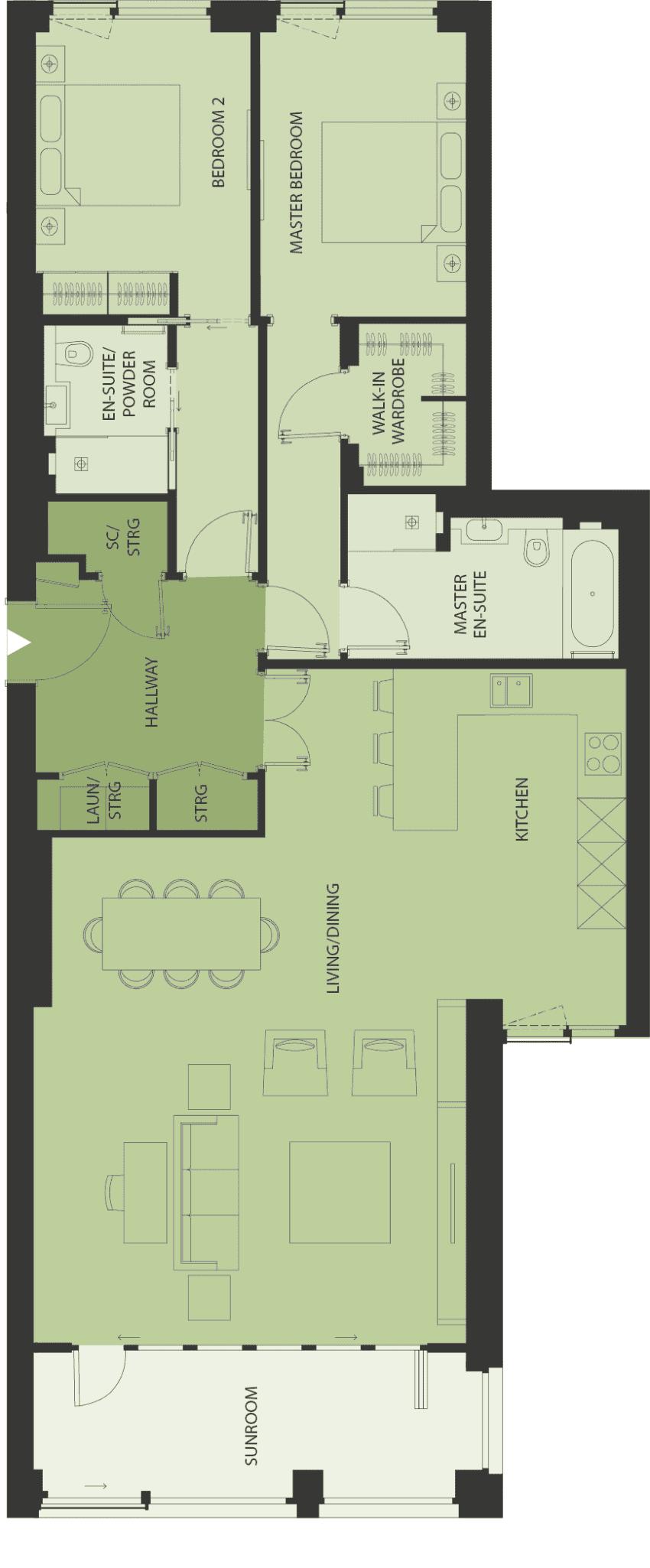 Lansdowne Place | templeton-2c Floor Plan