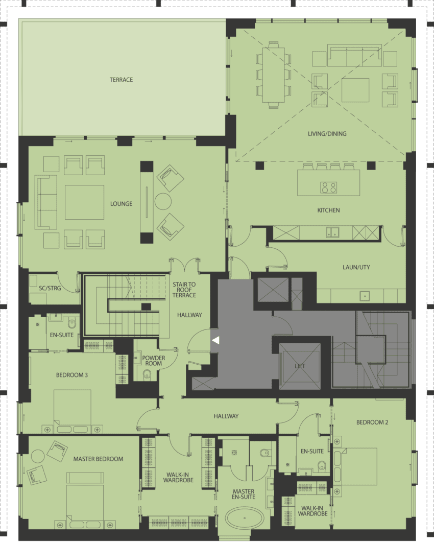 Lansdowne Place | burbidge-pa-1 Floor Plan