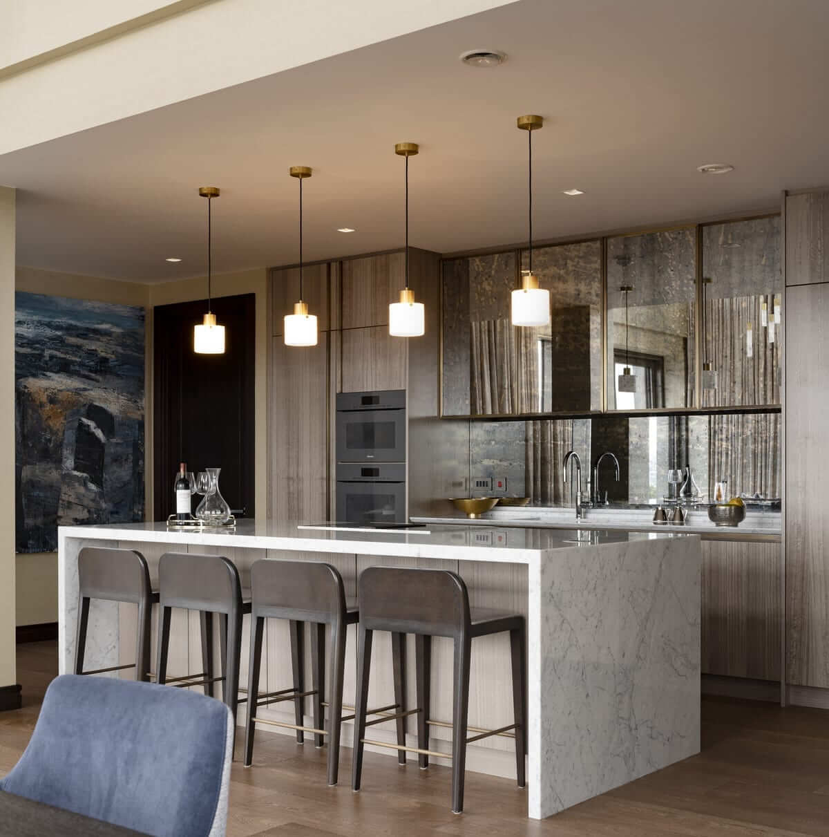 Lansdowne Place | Penthouse Kitchen open plan