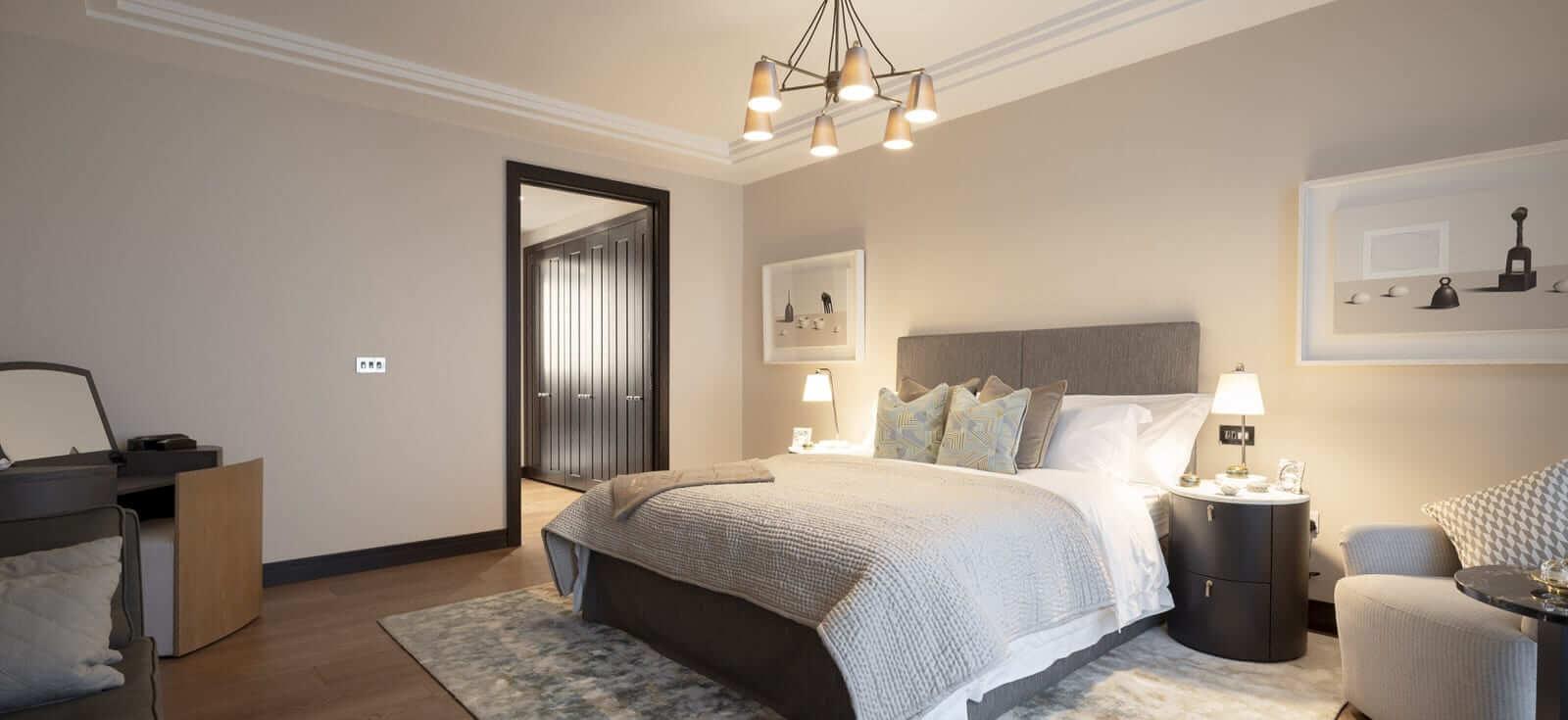 Lansdowne Place | Penthouse Master Bedroom