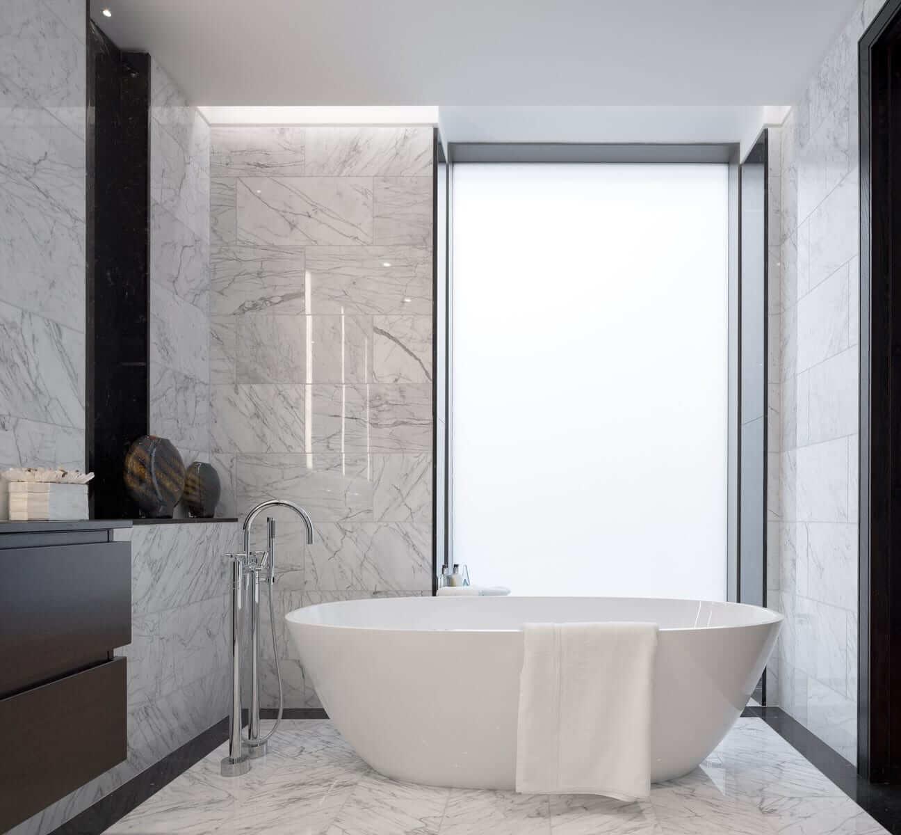 Lansdowne Place | Penthouse Master Ensuite Bath
