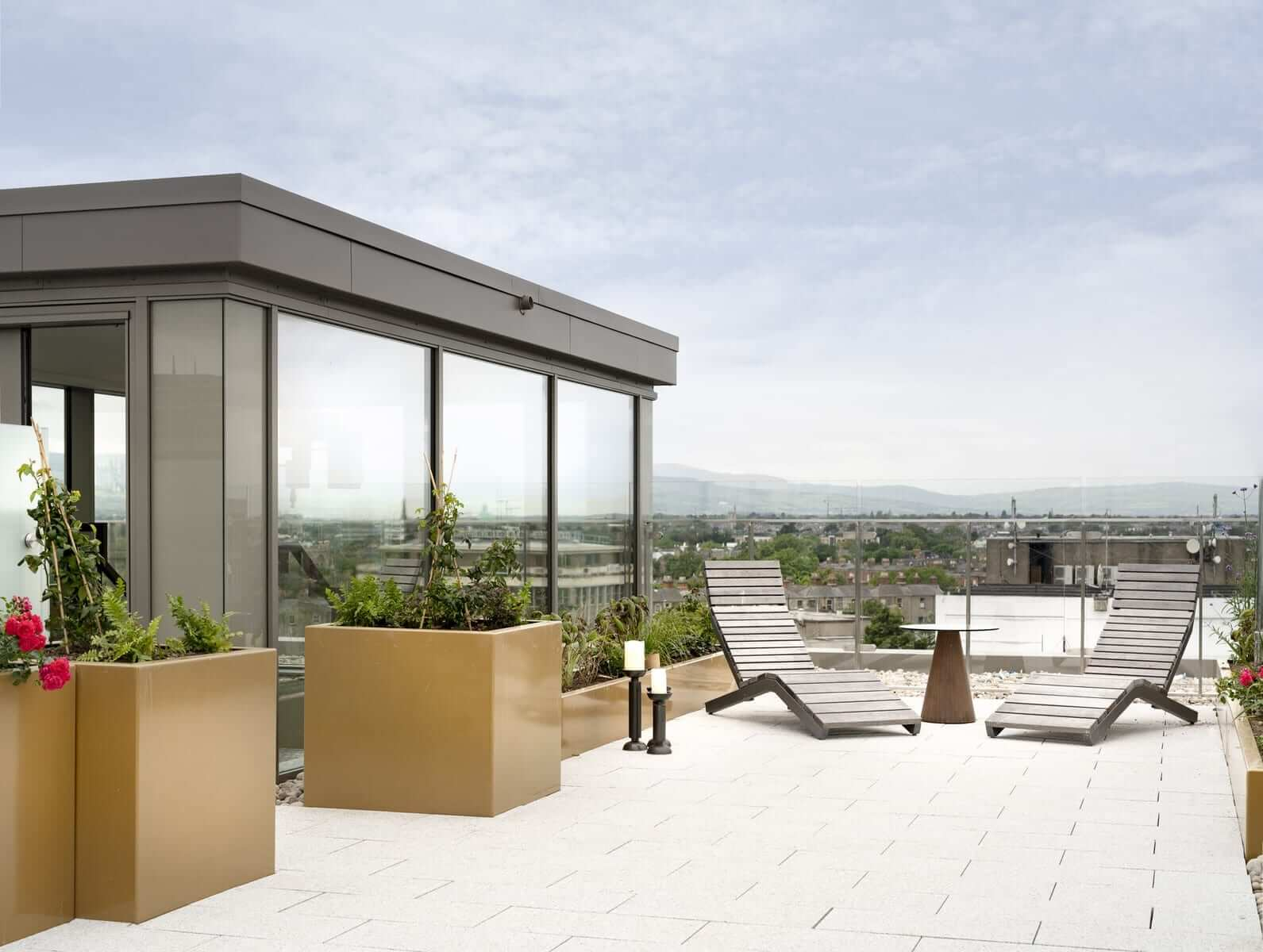 Lansdowne Place | Penthouse Roof Terrace, Second Image