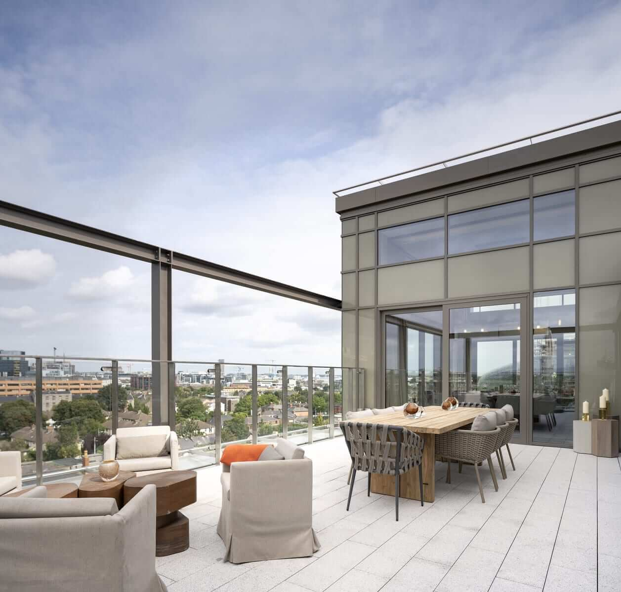 Lansdowne Place | Penthouse Terrace off Living Room
