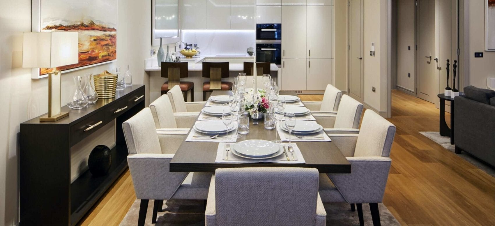 Lansdowne Place | Dining Room Table